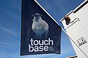 Flag of Touch Base at the space organized by Design Accademy Eindhoven in Fuorisalone Ventura street, Milano April 14, 2016. &copy; Carlo Cerchioli<br /> <br /> La bandiera di Touch Base allo spazio gestito dalla Design Accademy Eindhoven al Fuorisalone Ventura, Milano 14 aprile.