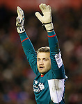 Simon Mignolet of Liverpool - English Premier League - Liverpool vs Manchester City - Anfield Stadium - Liverpool - England - 3rd March 2016 - Picture Simon Bellis/Sportimage