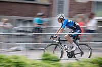 Wout Van Aert (BEL/Willems Veranda's - Crelan)<br /> <br /> Baloise Belgium Tour 2017 (2.HC)<br /> Stage 5: Tienen - Tongeren 169.6km