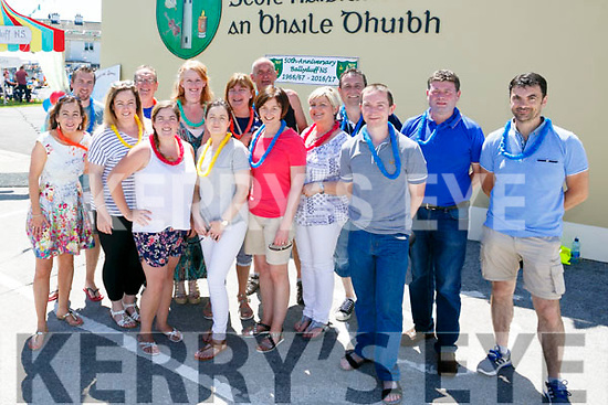 The Organising Committee at the BALLYDUFF N.S 50th ANNIVERSARY celebration  Family fun day on Sunday