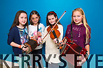 Katie Howle Listry, Eva Horan Listry, Kaylen Foley Lixnaw, Claire Stagg Kilcummin at the Ceol an Geimhridh in the North campu IT Tralee on Saturday