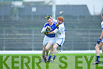 Thou Shalt Not Pass: Laune Rangers Eoin Ferris stops Kerins O'Rahillys Michael Quirke during their Senior Club Championship semi final clash in Fitzgerald Stadium on Saturday