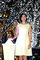 November 7, 2017, Tokyo, Japan - Japanese actress and pianist Nao Matsushita attends the lighting ceremony for the Christmas illumination at the Roppongi Hills shopping mall in Tokyo on Tuesday, November 7, 2017. Some 1.2 million LED lights along side of the Keyakizaka street will be illuminated through Christmas Day.    (Photo by Yoshio Tsunoda/AFLO) LWX -ytd-