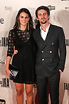 "Raul Arebalo and Melania Mazos during the premiere of the film ""Tarde para la Ira"" in Madrid. September 08, 2016. (ALTERPHOTOS/Rodrigo Jimenez)"