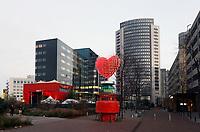 Nederland Amsterdam 2018. Het Spark Gebouw bij station Sloterdijk. Het Spark Gebouw wordt het tijdelijk onderkomen van EMA. Foto Berlinda van Dam / Hollandse Hoogte