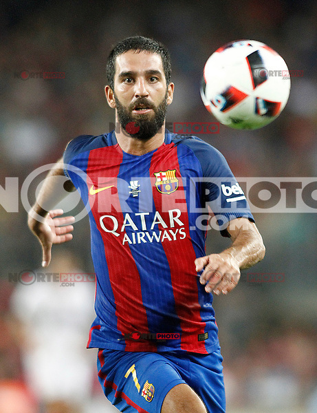 FC Barcelona's Arda Turan during Supercup of Spain 2nd match.August 17,2016. (ALTERPHOTOS/Acero) /NORTEPHOTO
