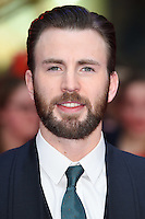 Chris Evans<br /> arrives for the European premiere of &quot;Captain America: Civil War&quot; at Westfield, Shepherds Bush, London<br /> <br /> <br /> &copy;Ash Knotek  D3111 26/04/2016