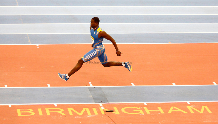 Photo: Richard Lane/Richard Lane Photography. Aviva Grand Prix. 20/02/2010. Cuba's Yoandri Betanzos during the men's triple jump.
