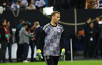 Torwart Manuel Neuer (Deutschland Germany) spuckt aus - 06.09.2019: Deutschland vs. Niederlande, Volksparkstadion Hamburg, EM-Qualifikation DISCLAIMER: DFB regulations prohibit any use of photographs as image sequences and/or quasi-video.