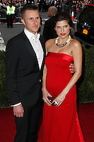 "NEW YORK CITY, NY, USA - MAY 05: Scott Campbell, Lake Bell at the ""Charles James: Beyond Fashion"" Costume Institute Gala held at the Metropolitan Museum of Art on May 5, 2014 in New York City, New York, United States. (Photo by Xavier Collin/Celebrity Monitor)"