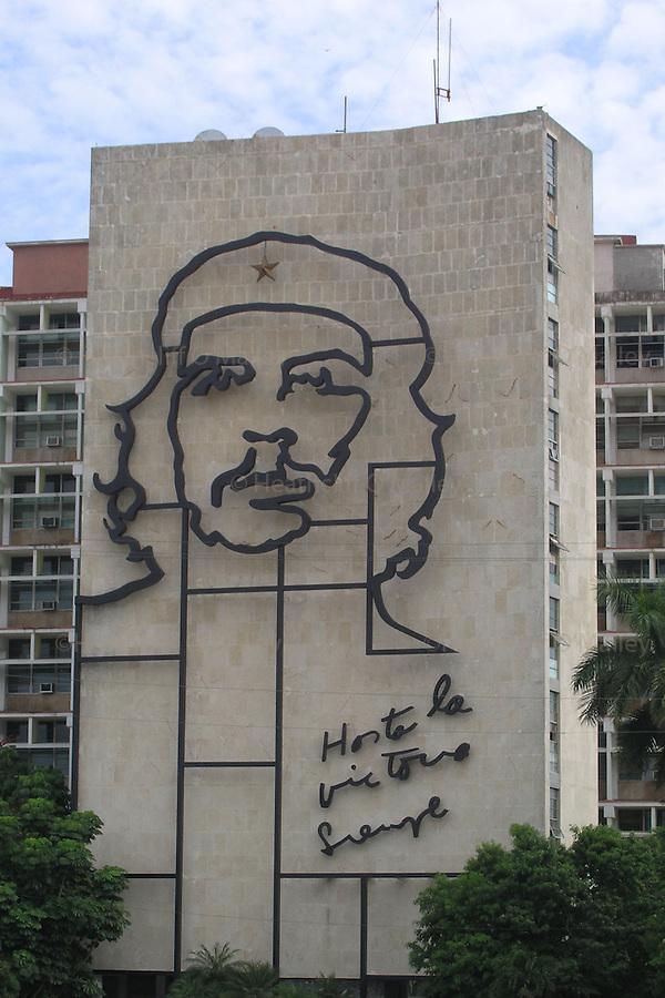 Che Guevara mural,Plaza de la Revolucion, Havana,Cuba