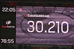 12.01.2018, BayArena, Leverkusen , GER, 1.FBL., Bayer 04 Leverkusen vs. FC Bayern M&uuml;nchen<br /> im Bild / picture shows: <br /> Zuschauer 30.210 ausverkauft <br /> <br /> <br /> Foto &copy; nordphoto / Meuter