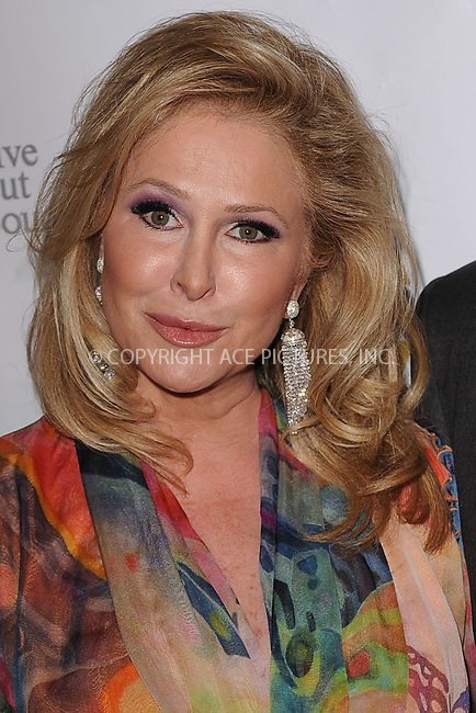 WWW.ACEPIXS.COM . . . . . .April 4, 2011...New York City..Kathy Hilton attends the Oxygen Upfront Presentation on April 4, 2011 in New York City....Please byline: KRISTIN CALLAHAN - ACEPIXS.COM.. . . . . . ..Ace Pictures, Inc: ..tel: (212) 243 8787 or (646) 769 0430..e-mail: info@acepixs.com..web: http://www.acepixs.com .