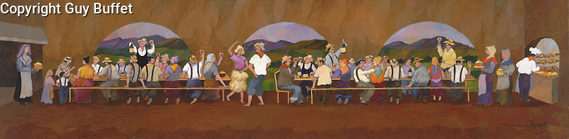 """Grape Picker's Dinner""<br />