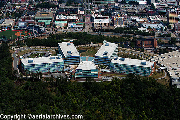aerial photograph Blue Cross Blue Shield Chattanooga, Tennessee