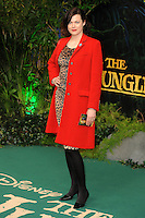 "Jasmine Guiness<br /> European premiere of ""The Jungle Book"" <br /> BFI IMAX, London"
