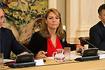 Susana Camarero, Secretary of state and social services during the council meeting of the Royal Board on Disability at Zarzuela Palace in Madrid, October 05, 2015.<br /> (ALTERPHOTOS/BorjaB.Hojas)