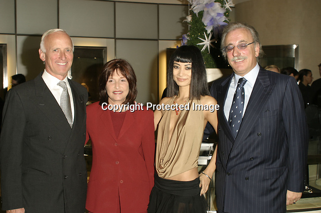 Guests, Roberto Coin  &amp; Bai Ling<br />