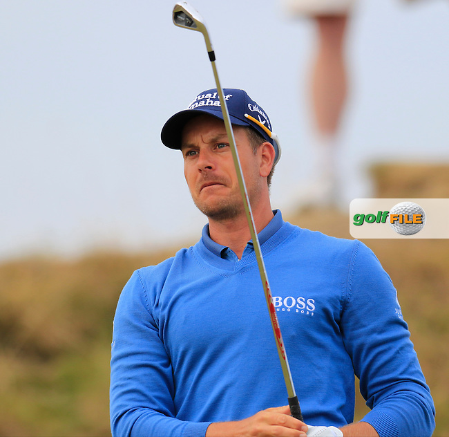 Henrik STENSON (SWE) tees off the 2nd tee during Thursday's Round 1 of the 2015 U.S. Open 115th National Championship held at Chambers Bay, Seattle, Washington, USA. 6/18/2015.<br /> Picture: Golffile | Eoin Clarke<br /> <br /> <br /> <br /> <br /> All photo usage must carry mandatory copyright credit (&copy; Golffile | Eoin Clarke)