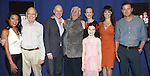 J. Elaine Marcos, Charles Strouse, Anthony Warlow, Martin Charnin, Katie Finneran, Lilla Crawford, Brynn O'Malley and Clarke Thorell. attending the Meet & Greet for 'ANNIE' at The New 42nd Street Rehearsal Studios in New York City on September 112, 2012