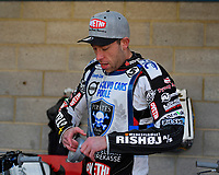 Peter Kildemand of Poole Pirates during Poole Pirates vs Belle Vue Aces, Elite League Speedway at The Stadium on 11th April 2018