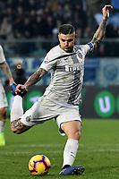 Mauro Icardi of Internazionale in action during the Serie A 2018/2019 football match between Empoli and Internazionale at stadio Castellani, Empoli, December, 29, 2018 <br /> Foto Andrea Staccioli / Insidefoto