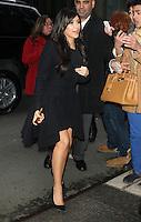 NEW YORK, NY - JANUARY 15: Kim Kardashian seen at SiriusXM Radio in New York City to talk about the E! reality show Kourtney & Kim Take Miami. New York City. January 15, 2013.  Credit: RW/MediaPunch Inc. /NortePhoto
