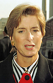 Governor Christine Todd Whitman (Republican of New Jersey) meets reporters at the White House in Washington, DC on February 3, 1997 after meeting with United States President Bill Clinton as part of the National Governors Association Winter Meeting.<br /> Credit: Ron Sachs / CNP