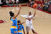 Stanford, CA - February 6, 2017:  Stanford falls to UCLA 85-76 at Maples Pavilion.