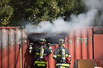 Moutain View Fire Department holds trianing drill