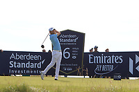 Bernd Wiesberger (AUT) on the 6th during Round 4 of the Aberdeen Standard Investments Scottish Open 2019 at The Renaissance Club, North Berwick, Scotland on Sunday 14th July 2019.<br />