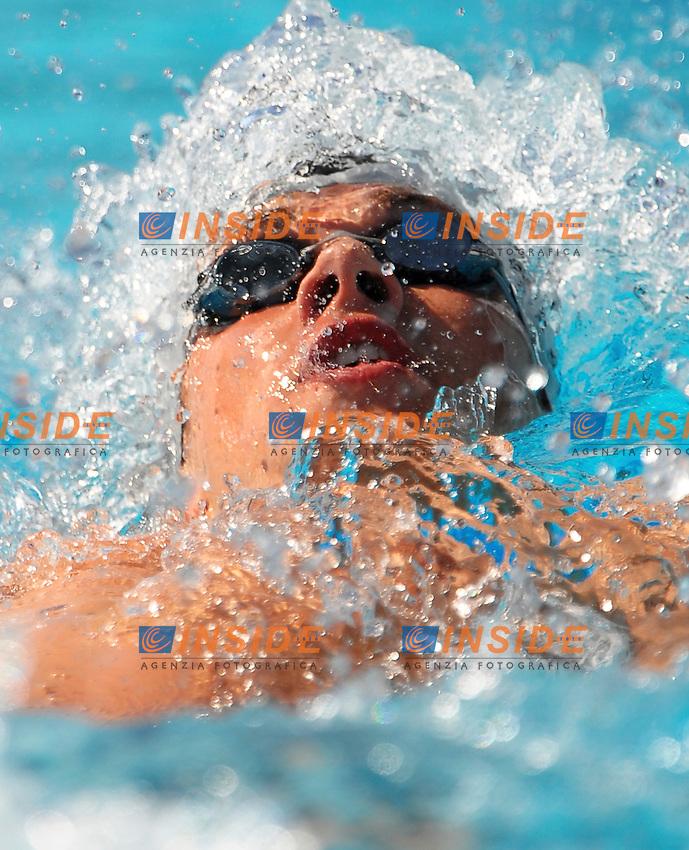 Roma 30th July 2009 - 13th Fina World Championships .From 17th to 2nd August 2009.Men's 200m Backstroke.Kurt BASSETT (NZL).photo: Roma2009.com/InsideFoto/SeaSee.com .Foto Andrea Staccioli Insidefoto