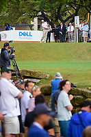 Bill Haas (USA) watches his tee shot on 1 during round 6 of the World Golf Championships, Dell Technologies Match Play, Austin Country Club, Austin, Texas, USA. 3/26/2017.<br /> Picture: Golffile | Ken Murray<br /> <br /> <br /> All photo usage must carry mandatory copyright credit (&copy; Golffile | Ken Murray)