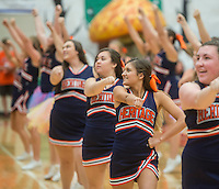 NWA Democrat-Gazette/ANTHONY REYES &bull; @NWATONYR<br /> Images from the Rogers Heritage Homecoming rally Friday, Sept. 25, 2015 at the school in Rogers. The event including the introduction of the 2015 homecoming court, musical performances, dancing and a pep rally for a football game against Springdale.