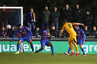Matthew Dolan of Newport County goes close during Maldon & Tiptree vs Newport County, Emirates FA Cup Football at the Wallace Binder Ground on 29th November 2019