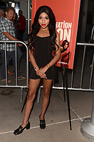 "LOS ANGELES - SEP 12:  Teala Dunn at the ""Assassination Nation"" Los Angeles Premiere at the ArcLight Theater on September 12, 2018 in Los Angeles, CA"