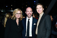 "NEW YORK - NOVEMBER 14: Bonnie Hunt, Eric Lange and Paul Dano attend the party following the premiere of Showtime's limited series ""Escape at Dannemora"" at Alice Tully Hall in Lincoln Center on November 14, 2018 in New York City. (Photo by Jason Mendez/Showtime/PictureGroup)"