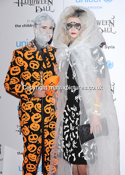 NON EXCLUSIVE PICTURE: PAUL TREADWAY / MATRIXPICTURES.CO.UK<br /> PLEASE CREDIT ALL USES<br /> <br /> WORLD RIGHTS<br /> <br /> English model Jodie Kidd attending the UNICEF Halloween Ball at London's One Mayfair.<br /> <br /> OCTOBER 31st 2013<br /> <br /> REF: PTY 137081