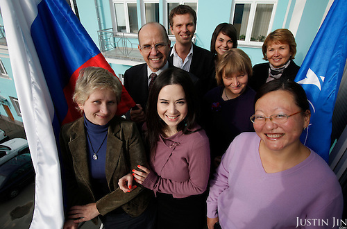 UNFPA team in Moscow.