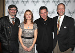 Terry Kinney, Kathryn Erbe, Anthony LaPaglia & Douglas McGrath attending the Opening Celebration for 'Checkers' at the Vineyard Theatre in New York City on 11/11/2012