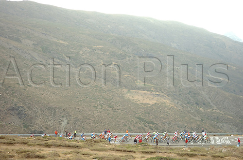12th September 2009, Vuelta a Espana, stage 13 Berja - Sierra Nevada, Sierra Nevada. Photo: Stefano Sirotti/ActionPlus.