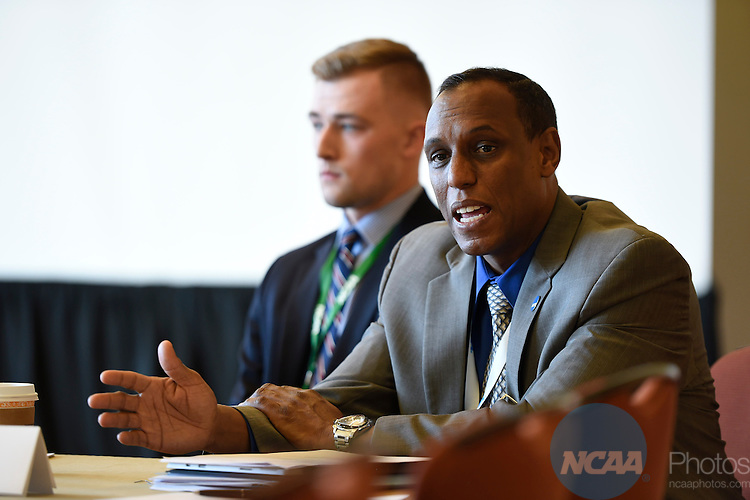 13 JAN 2016: The NCAA Division I SAAC meeting takes place during the 2016 NCAA Convention takes place at the Grand Hyatt  in San Antonio, TX. Justin Tafoya/NCAA Photos