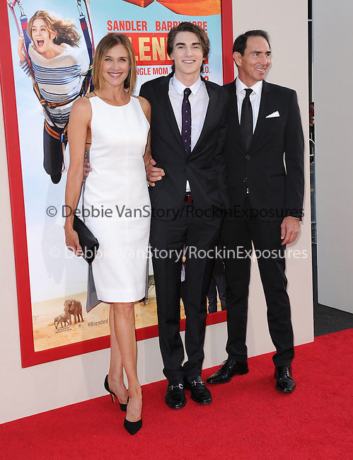 Brenda Strong and Zak Henri attends The Warner Bros. Pictures News L.A. Premiere of Blended held at TCL Chinese Theatre in Hollywood, California on May 21,2014                                                                               © 2014 Hollywood Press Agency