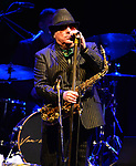 Van Morrison in concert at the James L. Knight Center in Miami