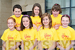 GLEE CAMP: Having a great time at the Glee Summer Camp 2 at Manor West hotel, Tralee on Monday front l-r: Ashling O'Neill, Jade Smullen, Raymy O'Flynn and Lorraine Kelly. Back l-r: Greg Murphy, Caroline O'Flynn and Rachel Dunne.