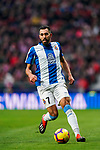 Borja Iglesias Quintas of RCD Espanyol in action during the La Liga 2018-19 match between Atletico de Madrid and RCD Espanyol at Wanda Metropolitano on December 22 2018 in Madrid, Spain. Photo by Diego Souto / Power Sport Images
