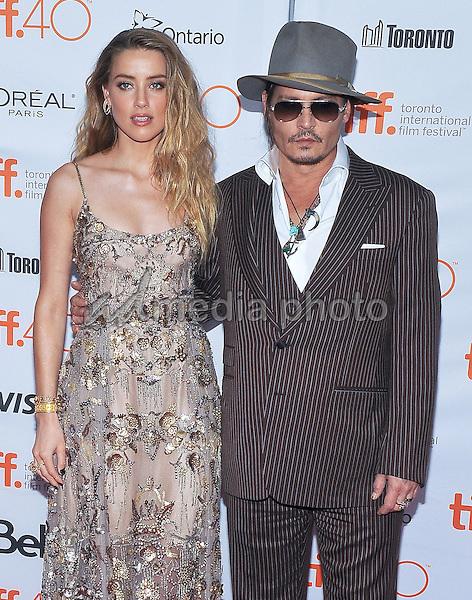 "12 September 2015 - Toronto, Ontario, Canada - Amber Heard, Johnny Depp. ""The Danish Girl"" Premiere during the 2015 Toronto International Film Festival held at  Princess of Wales Theatre. Photo Credit: Brent Perniac/AdMedia"