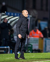 Yeovil Town Manager Darren Way during the Sky Bet League 2 match between Wycombe Wanderers and Yeovil Town at Adams Park, High Wycombe, England on 14 January 2017. Photo by Andy Rowland / PRiME Media Images.