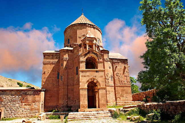 10th century Armenian Orthodox Cathedral of the Holy Cross on Akdamar Island, Lake Van Turkey 62