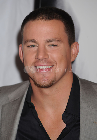 Channing Tatum at the premiere of 'Fighting' at the Regal Union Square Stadium 14 in New York City. April 20, 2009. Credit: Dennis Van Tine/MediaPunch